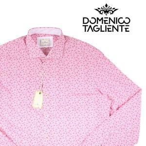 Domenico Tagliente 長袖シャツ メンズ 42/2XL ピンク ドメニコ・タリエンテ 大きいサイズ 並行輸入品|utsubostock