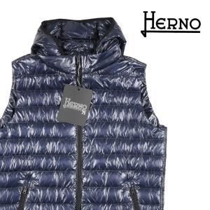 HERNO ダウンベスト PIO353U navy 48【W15363】 ヘルノ|utsubostock