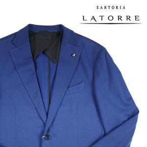 【52】 Sartoria Latorre サルトリア・ラトーレ ジャケット メンズ ブルー 青 並行輸入品 アウター トップス 大きいサイズ|utsubostock