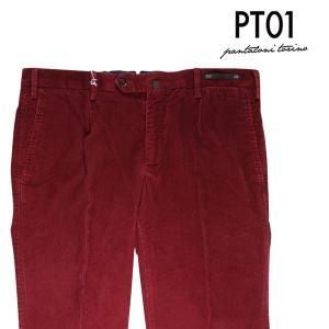 PT01 コーデュロイパンツ メンズ 秋冬 50/XL レッド 赤 TU11 ピーティー ゼロウーノ 並行輸入品|utsubostock