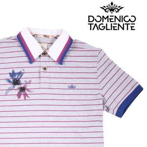 Domenico Tagliente 半袖ポロシャツ メンズ 春夏 L/48 グレー 灰色 ドメニコ・タリエンテ 並行輸入品|utsubostock