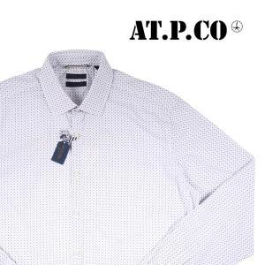 AT.P.CO 長袖シャツ A146ITALIA white 41 15714【A15715】 utsubostock