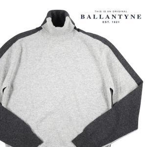 Ballantyne タートルネックセーター メンズ 秋冬 48/L グレー 灰色 H2P00212W93 バランタイン 並行輸入品|utsubostock