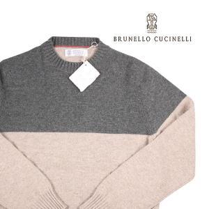 BRUNELLO CUCINELLI 丸首セーター メンズ 秋冬 46/M M2273800 ブルネロクチネリ 並行輸入品|utsubostock