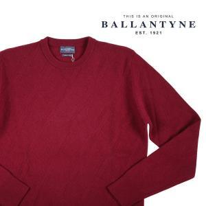 Ballantyne 丸首セーター メンズ 秋冬 50/XL レッド 赤 H2P031 バランタイン 並行輸入品|utsubostock