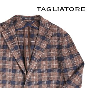 TAGLIATORE ジャケット 34QEG145 brown 50 15867【S15868】|utsubostock