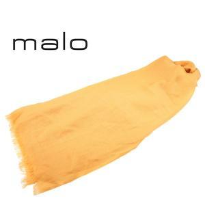 malo ストール メンズ イエロー 黄 カシミヤ100% マーロ 並行輸入品|utsubostock