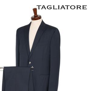 TAGLIATORE スーツ メンズ 52/2XL ネイビー 紺 06UPZ156 タリアトーレ 大きいサイズ 並行輸入品|utsubostock