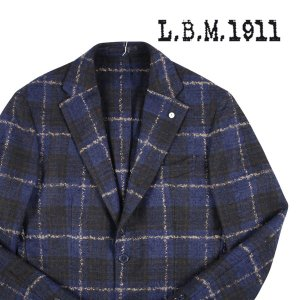 L.B.M.1911 ジャケット メンズ 秋冬 48/L ネイビー 紺 72050/2 エルビーエム 並行輸入品 utsubostock