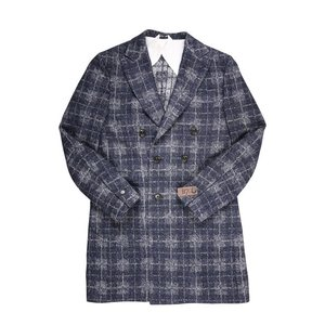 B SETTECENTO コート メンズ 秋冬 50/XL ネイビー 紺 ビーセッテチェント 並行輸入品|utsubostock|02