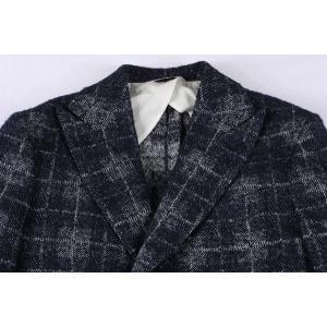 B SETTECENTO コート メンズ 秋冬 50/XL ネイビー 紺 ビーセッテチェント 並行輸入品|utsubostock|04