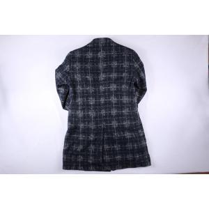 B SETTECENTO コート メンズ 秋冬 50/XL ネイビー 紺 ビーセッテチェント 並行輸入品|utsubostock|05