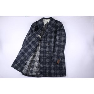 B SETTECENTO コート メンズ 秋冬 50/XL ネイビー 紺 ビーセッテチェント 並行輸入品|utsubostock|07