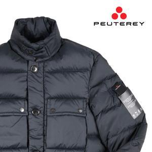 PEUTEREY ダウンジャケット メンズ 秋冬 S/44 ネイビー 紺 PEU2562 ピューテリー 並行輸入品|utsubostock