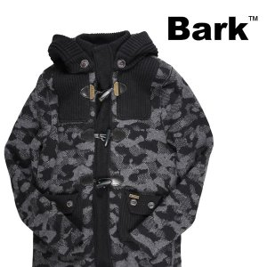 BARK コート メンズ 秋冬 XS/42 グレー 灰色 72B8009 バーク 並行輸入品|utsubostock