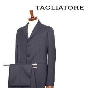 【46】 TAGLIATORE タリアトーレ スーツ 06UEZ222 メンズ ネイビー 紺 並行輸入品|utsubostock