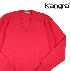 【52】 Kangra カングラ Vネックセーター メンズ 秋冬 カシミヤ100% ピンク 並行輸入品 ニット 大きいサイズ|utsubostock