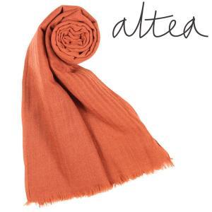 Altea ストール メンズ 秋冬 オレンジ アルテア 並行輸入品|utsubostock