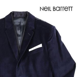 NEIL BARRETT ジャケット メンズ 秋冬 44/S ブルー 青 ニールバレット 並行輸入品|utsubostock