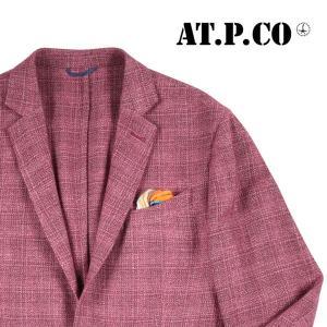 【54】 AT.P.CO アティピコ ジャケット メンズ 秋冬 レッド 赤 並行輸入品 アウター トップス 大きいサイズ utsubostock