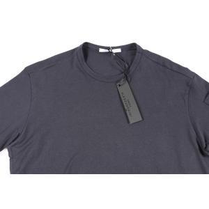 【L】 Daniele Alessandrini ダニエレアレッサンドリーニ Uネック半袖Tシャツ メンズ ネイビー 紺 並行輸入品 トップス|utsubostock|03