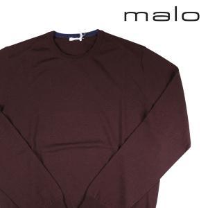 malo 丸首セーター メンズ 秋冬 54/3XL ブラウン 茶 マーロ 大きいサイズ 並行輸入品|utsubostock
