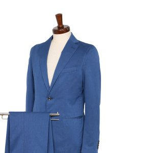 Reporter スーツ メンズ 46/M ブルー 青 リポーター 並行輸入品|utsubostock