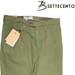 B Settecento コットンパンツ 3019-85 khaki 32 16565K【S16594】|utsubostock