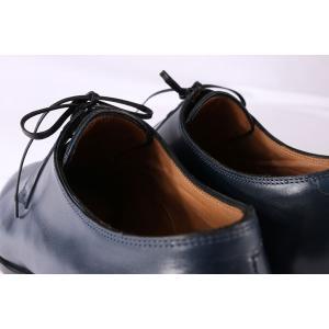 【40.5】 mario bemer マリオ・ベーメル 革靴 メンズ ハンドメイド ネイビー 紺 並行輸入品|utsubostock|13