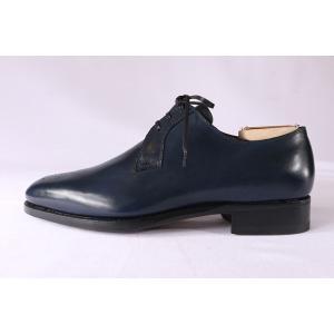 【40.5】 mario bemer マリオ・ベーメル 革靴 メンズ ハンドメイド ネイビー 紺 並行輸入品|utsubostock|03