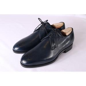 【40.5】 mario bemer マリオ・ベーメル 革靴 メンズ ハンドメイド ネイビー 紺 並行輸入品|utsubostock|04