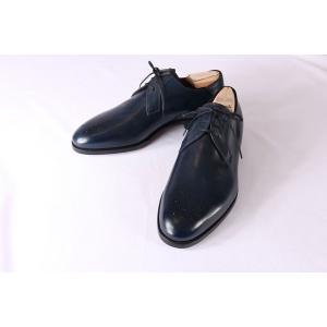 【40.5】 mario bemer マリオ・ベーメル 革靴 メンズ ハンドメイド ネイビー 紺 並行輸入品|utsubostock|08