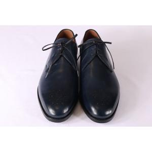 【40.5】 mario bemer マリオ・ベーメル 革靴 メンズ ハンドメイド ネイビー 紺 並行輸入品|utsubostock|10