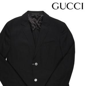 GUCCI 無地 ジャケット 1DZPF0 black 50 16724【S16726】|utsubostock