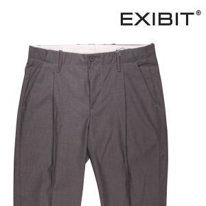 EXIBIT スラックス メンズ 春夏 46/M グレー 灰色 エグジビット 並行輸入品 utsubostock