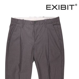 EXIBIT 無地 スラックス PAD22343 gray 52 16837G【S16848】 エグジビット|utsubostock
