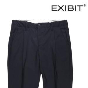 EXIBIT スラックス メンズ 春夏 46/M ネイビー 紺 エグジビット 並行輸入品 utsubostock