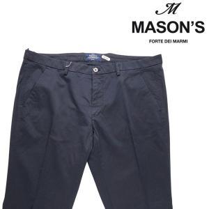【56】 MASON'S メイソンズ コットンパンツ メンズ ネイビー 紺 並行輸入品 ズボン 大きいサイズ utsubostock