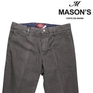 MASON'S コットンパンツ メンズ 44/S グレー 灰色 メイソンズ 並行輸入品|utsubostock