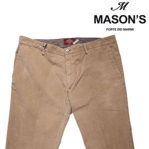 【56】 MASON'S メイソンズ コーデュロイパンツ メンズ 秋冬 ベージュ 並行輸入品 ズボン 大きいサイズ|utsubostock