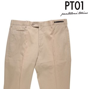 【50】 PT01 ピーティー ゼロウーノ コットンパンツ TORINO メンズ ベージュ 並行輸入品 ズボン|utsubostock