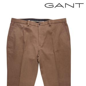 GANT コットンパンツ メンズ 秋冬 58/5XL ブラウン 茶 ガント 大きいサイズ 並行輸入品 utsubostock