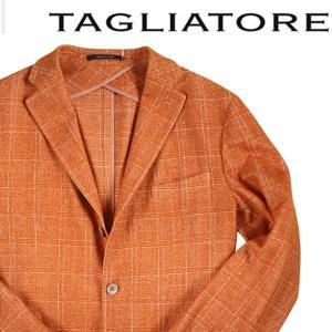 【48】 TAGLIATORE タリアトーレ ジャケット 1SMT23B メンズ 秋冬 チェック オレンジ 並行輸入品 アウター トップス utsubostock