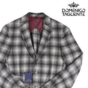 Domenico Tagliente ジャケット メンズ 秋冬 48/L ブラック 黒 ドメニコ・タリエンテ 並行輸入品|utsubostock
