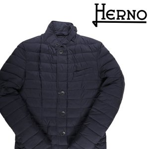 HERNO ブルゾン メンズ 46/M ネイビー 紺 PC0013U ヘルノ 並行輸入品|utsubostock