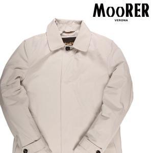 MOORER コート メンズ 52/2XL ホワイト 白 VITTOR ムーレー 大きいサイズ 並行輸入品|utsubostock