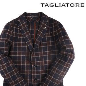 TAGLIATORE ジャケット メンズ 秋冬 50/XL ネイビー 紺 1SMC22K タリアトーレ 並行輸入品 utsubostock