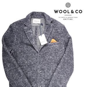 Wool&Co コート メンズ 秋冬 L/48 ネイビー 紺 ウールアンドコー 並行輸入品|utsubostock