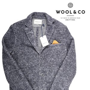 Wool&Co コート メンズ 秋冬 M/46 ネイビー 紺 ウールアンドコー 並行輸入品|utsubostock