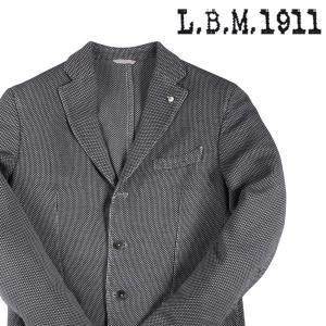 【50】 L.B.M.1911 エルビーエム ジャケット S75018/2 メンズ ブラック 黒 並行輸入品 アウター トップス|utsubostock